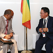 20150604- Brussels - Belgium - 04 June 2015 - European Development Days - EDD  - Bilateral Meeting - Belete Tafere , Minister of Environment and Forestry, Ethiopia and Mr Li Yong , Director General of the United Nations Industrial Development Organization © EU/UE