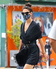 Katie Holmes out in New York - 16 July 2020
