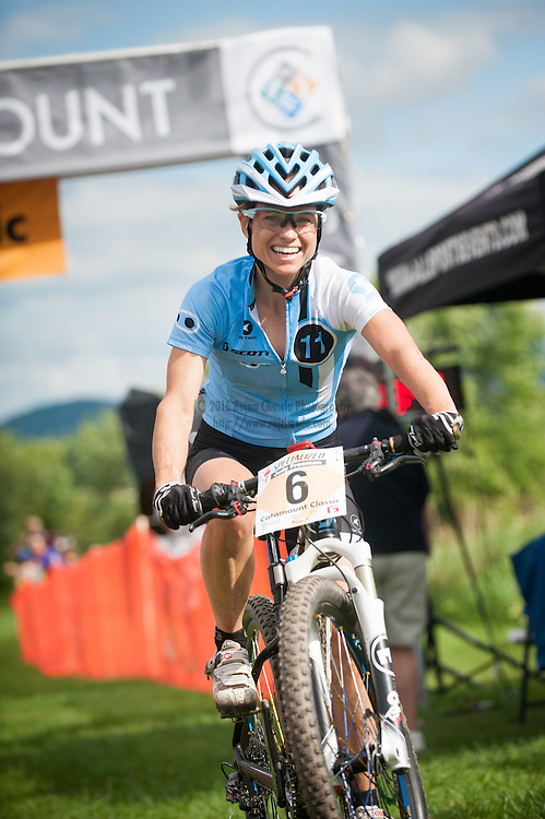 Judy Freeman, Crankbrothers. The Catamount Classic Pro XCT Race, Williston, Vermont. All Photographs © 2013 Rajan Chawla Photography. ALL RIGHTS RESERVED. http://www.rajchawla.com.