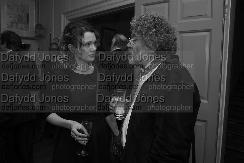 ANNA STOTHARD; CRAIG RAINE, The launch of Fire Child by Sally Emerson. Hosted by Sally Emerson and Naim Attalah CBE. Dean St. London. 22 March 2017