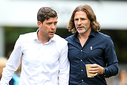 Bristol Rovers manager Darrell Clarke and Wycombe Wanderers manager Gareth Ainsworth shake hands - Mandatory by-line: Robbie Stephenson/JMP - 18/08/2018 - FOOTBALL - Adam's Park - High Wycombe, England - Wycombe Wanderers v Bristol Rovers - Sky Bet League One