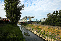 A general view from outside Sincil Bank Stadium, home to Lincoln City - Mandatory by-line: Robbie Stephenson/JMP - 13/07/2018 - FOOTBALL - Sincil Bank Stadium - Lincoln, England - Lincoln City v Sheffield Wednesday - Pre-season friendly