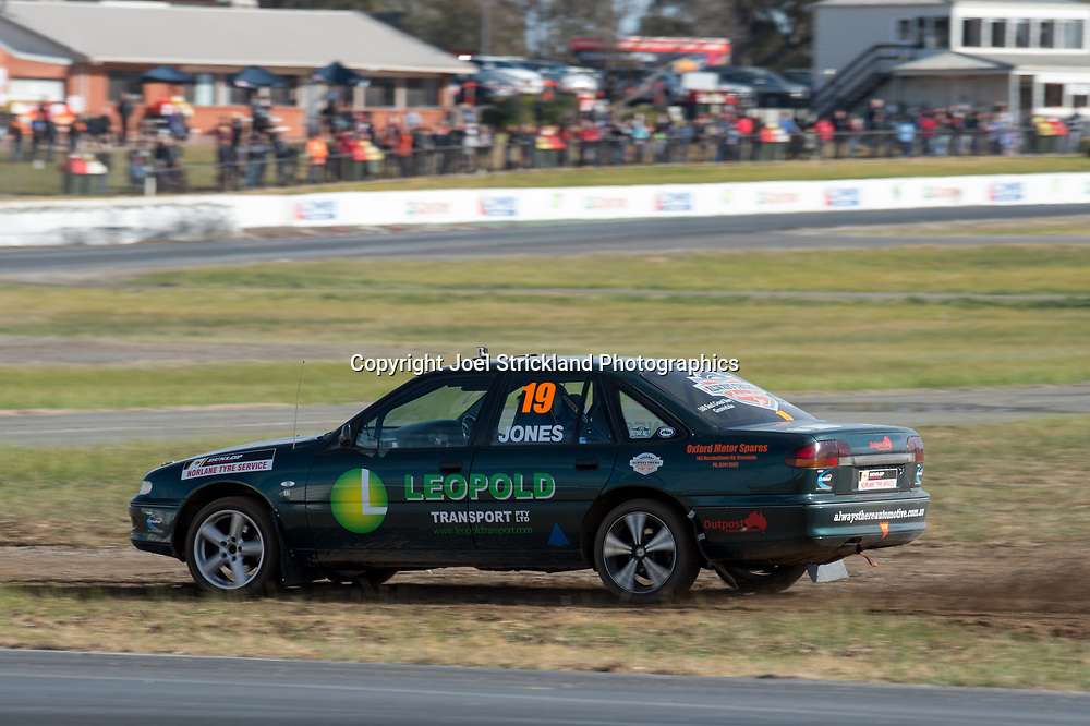 Matthew Jones - Holden Commodore  - Rallycross Australia - Winton Raceway - 16th July 2017