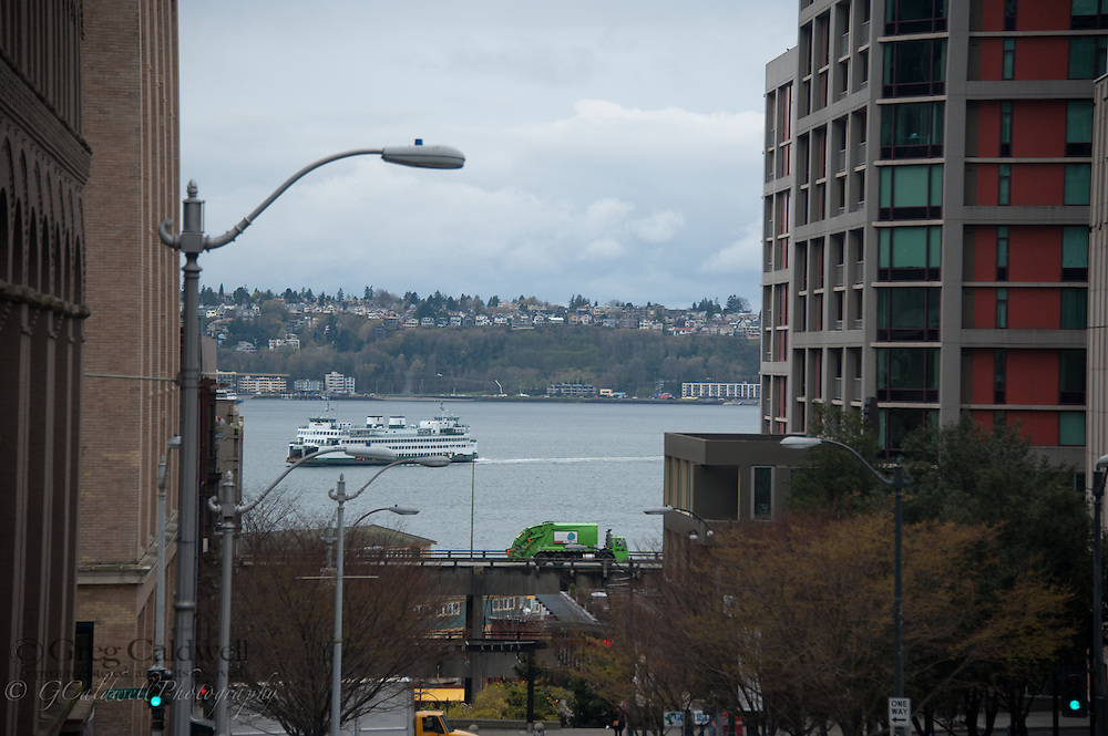Images of Seattle icons along the West Edge. Photographed for the first Seattle Open House Tour.