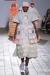 © Licensed to London News Pictures. 28/05/2013. London, England. Collection by Yoshimi Mita. Central St Martins BA Fashion show with collections by graduate fashion students. Photo credit: Bettina Strenske/LNP