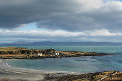 Tarbert Bay on the Isle of Jura as a storm rolls in from the East<br /> <br /> (c) Richard Dyson| Edinburgh Elite media