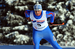 Slovenian cross-country skier Matej Brus at 10th OPA - Continental Cup 2008-2009, on January 17, 2009, in Rogla, Slovenia.  (Photo by Vid Ponikvar / Sportida)