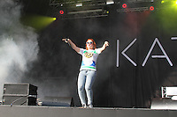 Katy B, As One In The Park, Victoria Park, London UK, 26 May 2013, (Photo by Richard Goldschmidt)
