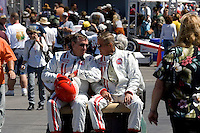 MONTEREY, CA - AUGUST 18:  Participants take part in the Monterey Historic Automobile Races at the Mazda Raceway Laguna Seca on August 18, 2007 in Monterey, California.  (Photo by David Paul Morris)