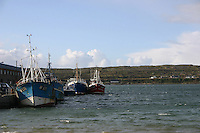 Kilronan pier, the Aran Islands, County Galway