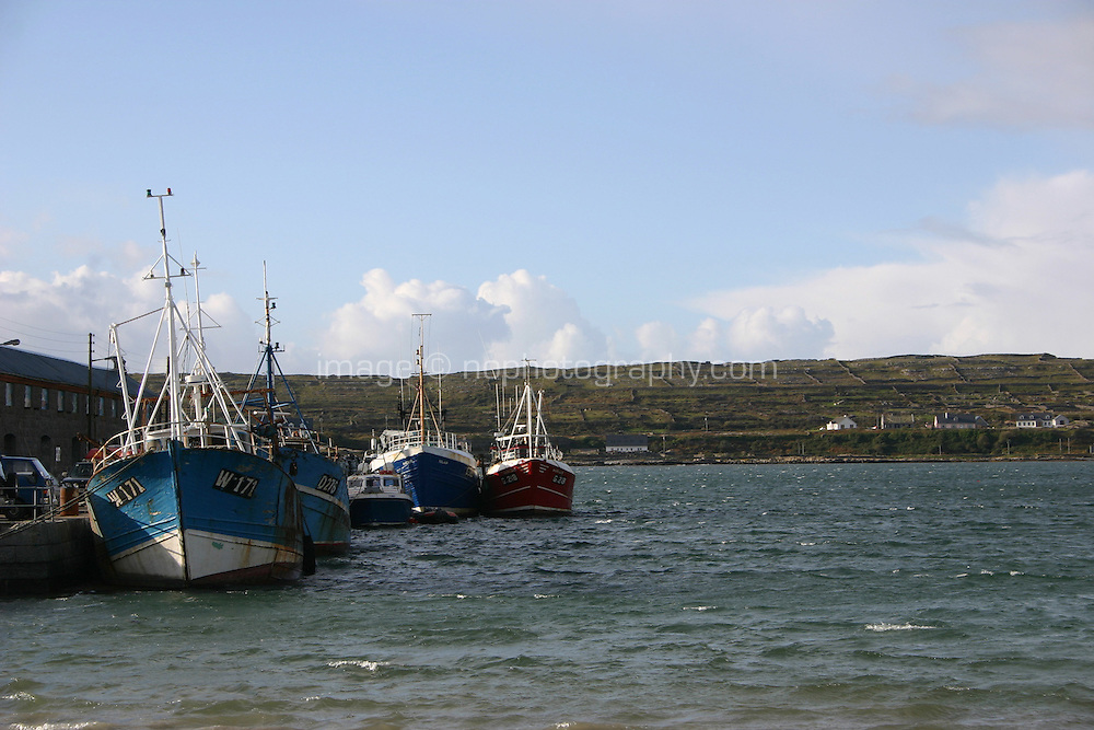 Kilronan pier, the Aran Islands, County Galway