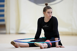 Spela Kratochwill at practice of Slovenian Rhythmic Gymnastics Team before 36th European Rhythmic Gymnastics Championships in Budapest - Hungary, on May 15, 2017 in Gimnasticna dvorana, Ljubljana, Slovenia. Photo by Matic Klansek Velej / Sportida