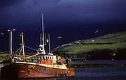 Old Fishing boat at Dingle.