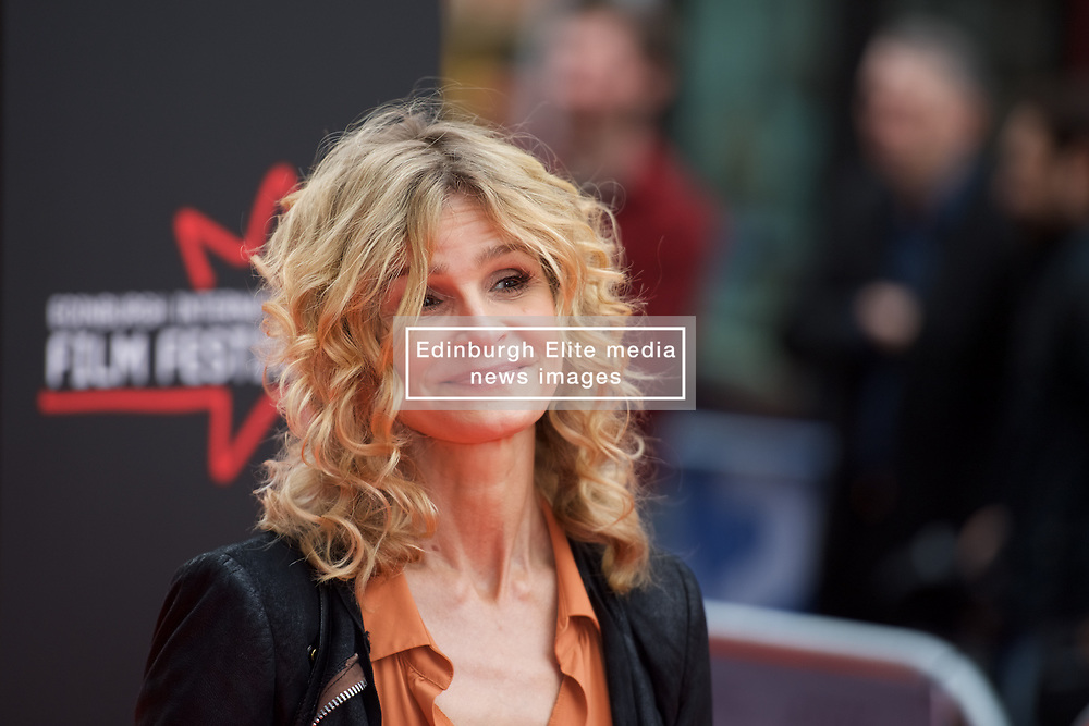 Myra Sedgwick on the red carpet at the Edinburgh International Film Festival Opening Night Gala of the UK  Premier, God's Own Country directed by Francis Lee at Edinburgh's Festival Theatre. Wednesday 21st June 2017(c) Brian Anderson | Edinburgh Elite media