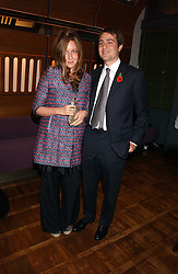 BEN & KATE GOLDSMITH at a party to celebrate the publication of 'E is for Eating' by Tom Parker Bowles held at Kensington Place, 201 Kensington Church Street, London W8 on 3rd November 2004.<br />