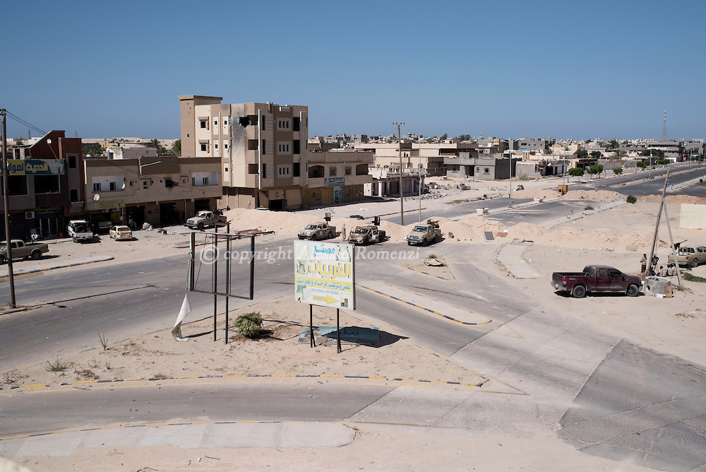 Libya: Frontline between Libya's Government of National Accord's (GNA) troops and ISIS in Sirte. Alessio Romenzi