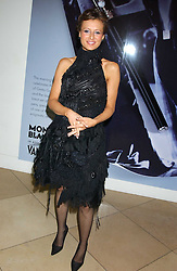 Singer BEULAH at a private view of 'The World's Most Photographed' exhibition hosted by Vanity Fair and Mont Blanc to celebrate Greta Gabo's 100th Birthday at the National Portrait Gallery, St.Martin's Place, London on 19th September 2005.<br /><br />NON EXCLUSIVE - WORLD RIGHTS