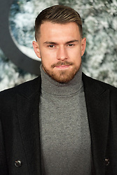 © Licensed to London News Pictures. 15/12/2016. AARON RAMSEY attends the European film premiere of Collateral Beauty. London, UK. Photo credit: Ray Tang/LNP