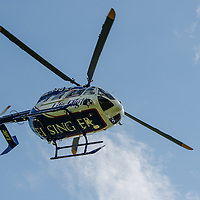 Geisinger Life Flight Helicopter