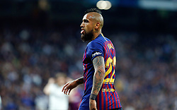 March 2, 2019 - Madrid, Spain - FC Barcelona's Arturo Vidal in action during La Liga match between Real Madrid and FC Barcelona at Santiago Bernabéu in Madrid..Final Score: Real Madrid 0 - 1 FC Barcelona (Credit Image: © Manu Reino/SOPA Images via ZUMA Wire)