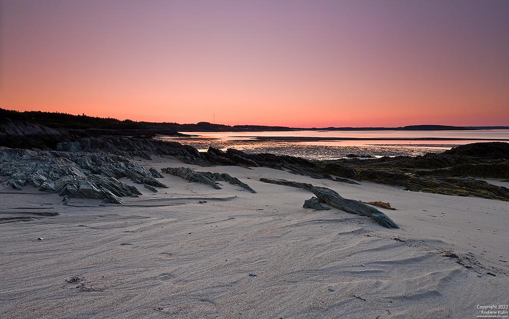 Sunrise at the Bay of Fundy - Pocologan, New Brunswick, Canada.5-shot stitched panorama .6114 x 3834 pixels original size