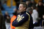 Millwall Manager Neil Harris looking on during the EFL Sky Bet League 1 match between Millwall and Shrewsbury Town at The Den, London, England on 10 December 2016. Photo by Matthew Redman.