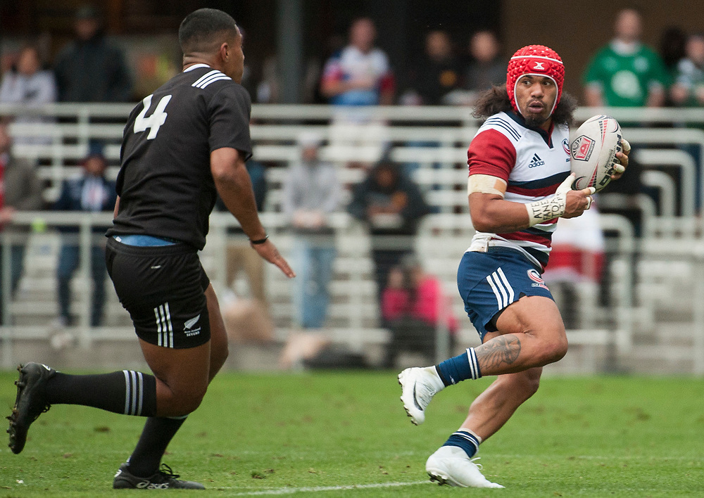 Fiji play the United States at the Silicon Valley Sevens in San Jose, California. November 4, 2017. <br /> <br /> By Jack Megaw.<br /> <br /> FJIUSA<br /> <br /> <br /> <br /> www.jackmegaw.com<br /> <br /> jack@jackmegaw.com<br /> @jackmegawphoto<br /> [US] +1 610.764.3094<br /> [UK] +44 07481 764811