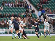 Twickenham, United Kingdom.  Choloe WITHERS, running with the ball, during the 2015 Women's Varsity Match, Oxford vs Cambridge, RFU Twickenham Stadium, England.<br /> <br /> Thursday  10/12/2015<br /> <br /> [Mandatory Credit. Peter SPURRIER/Intersport Images].