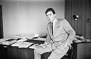 21/05/1968<br /> 05/21/1968<br /> 21 May 1968<br /> Tony O'Reilly Managing Director of Irish Sugar Co. at his office at Irish Sugar Co. headquarters The Sugar Company at Earlsfort Terrace, Dublin.