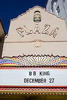 Remodeled historic Plaza Theater in downtown, El Paso, Texas.