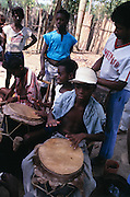 Drummers in Togo