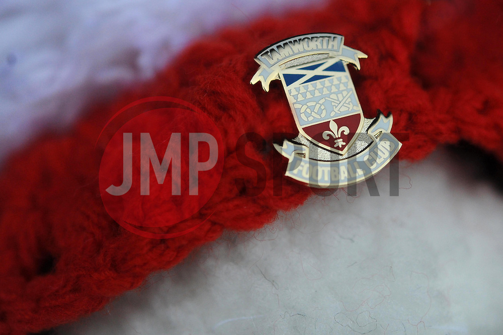 Tamworth Badge - Photo mandatory by-line: Dougie Allward/JMP - Tel: Mobile: 07966 386802 08/12/2013 - SPORT - Football - Tamworth - The Lamb Ground - Tamworth v Bristol City - FA Cup - Second Round