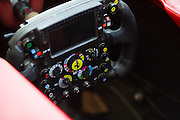 November 21-23, 2014 : Abu Dhabi Grand Prix, Ferrari steering wheel detail
