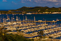 Yacht harbor, Port Moselle, Noumea, Grand Terre, New Caledonia