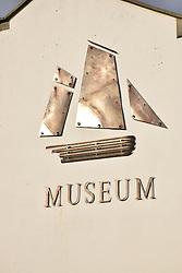 Fishermen's Museum sign, Hastings, East Sussex UK Oct 2016