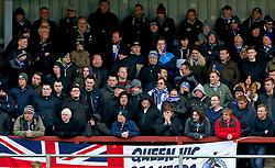 Bristol Rovers fans - Mandatory by-line: Matt McNulty/JMP - 14/01/2017 - FOOTBALL - Highbury Stadium - Fleetwood, England - Fleetwood Town v Bristol Rovers - Sky Bet League One