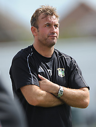 Tony Joyce, Manager, Aylesbury United, Kettering Town v Aylesbury Utd, Southern League, Burton Park, Kettering, 9th August 2014