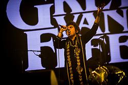 June 17, 2018 - Landgraaf, Limburg, Netherlands - Joshua Kiszka of Greta Van Fleet performing live at Pinkpop Festival 2018 in Landgraaf, Netherlands,on 17 June 2018. (Credit Image: © Roberto Finizio/NurPhoto via ZUMA Press)