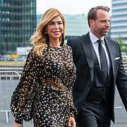 NLD/Amsterdam/201905225 - Amsterdamdiner 2019, Estelle Cruijff en Robert Lee