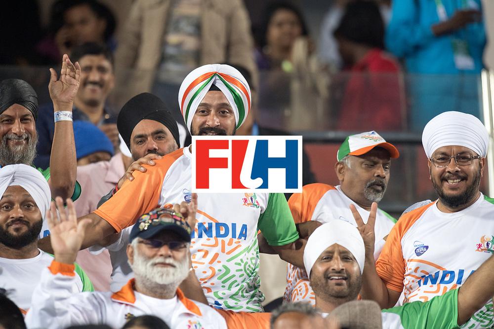 Odisha Men's Hockey World League Final Bhubaneswar 2017<br /> Match id:05<br /> 06 IND v ENG (Pool B)<br /> Foto: Indien fans.<br /> WORLDSPORTPICS COPYRIGHT FRANK UIJLENBROEK