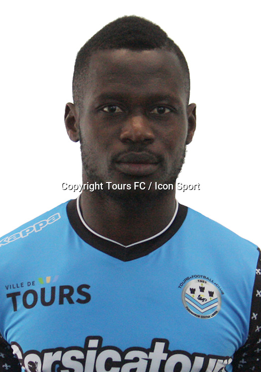 Daouda Konate during the during photoshooting of Tours FC for new season 2017/2018 on October 5, 2017 in Tours, France<br /> Photo : Tours FC / Icon Sport