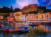 """Sunset at Marina Grande - Port of Sorrento""…<br />