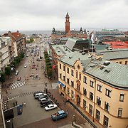 Helsingborg, officially settled in May 1085 by Denmark, is one of the oldest cities of what is now Sweden. Following the Dano-Swedish War (1657-1658) and the Treaty of Roskilde Denmark had to give up all territory on the southern Scandinavian peninsula, and Helsingborg became a Swedish city.<br /> Photography by Jose More