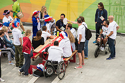 Les Coulisses, Behind the scenes at Rio 2016 Paralympic Games, Brazil