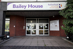 UK ENGLAND ROTHERHAM 28AUG14 - Bailey House, part of the metropolitan borough of Rotherham, epicentre of the largest child sex abuse scandal in Britain.<br /> <br /> An August 2014 report found that around 1,400 children had been sexually exploited in the town between 1997 and 2013, mainly by British-Pakistani men.<br /> <br /> jre/Photo by Jiri Rezac<br /> <br /> &Acirc;&copy; Jiri Rezac 2014
