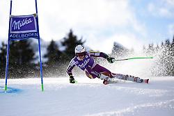 10.01.2015, Adelboden, SUI, FIS Weltcup Ski Alpin, Adelboden, Riesentorlauf, Herren, 1. Durchgang, im Bild Henrik Kristoffersen (NOR) // during first run of Men Giant Slalom of FIS Ski Alpine World Cup Adelboden, Switzerland on 2015/01/10. EXPA Pictures © 2015, PhotoCredit: EXPA/ Freshfocus/ Urs Lindt<br /> <br /> *****ATTENTION - for AUT, SLO, CRO, SRB, BIH, MAZ only*****