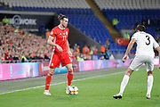 Wales forward Gareth Bale during the UEFA European 2020 Qualifier match between Wales and Azerbaijan at the Cardiff City Stadium, Cardiff, Wales on 6 September 2019.