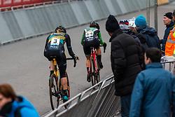 VAN LOY Ellen (BEL) during Women Elite race, 2019 UCI Cyclo-cross World Cup Heusden-Zolder, Belgium, 26 December 2019.<br /> <br /> Photo by Pim Nijland / PelotonPhotos.com <br /> <br /> All photos usage must carry mandatory copyright credit (Peloton Photos   Pim Nijland)