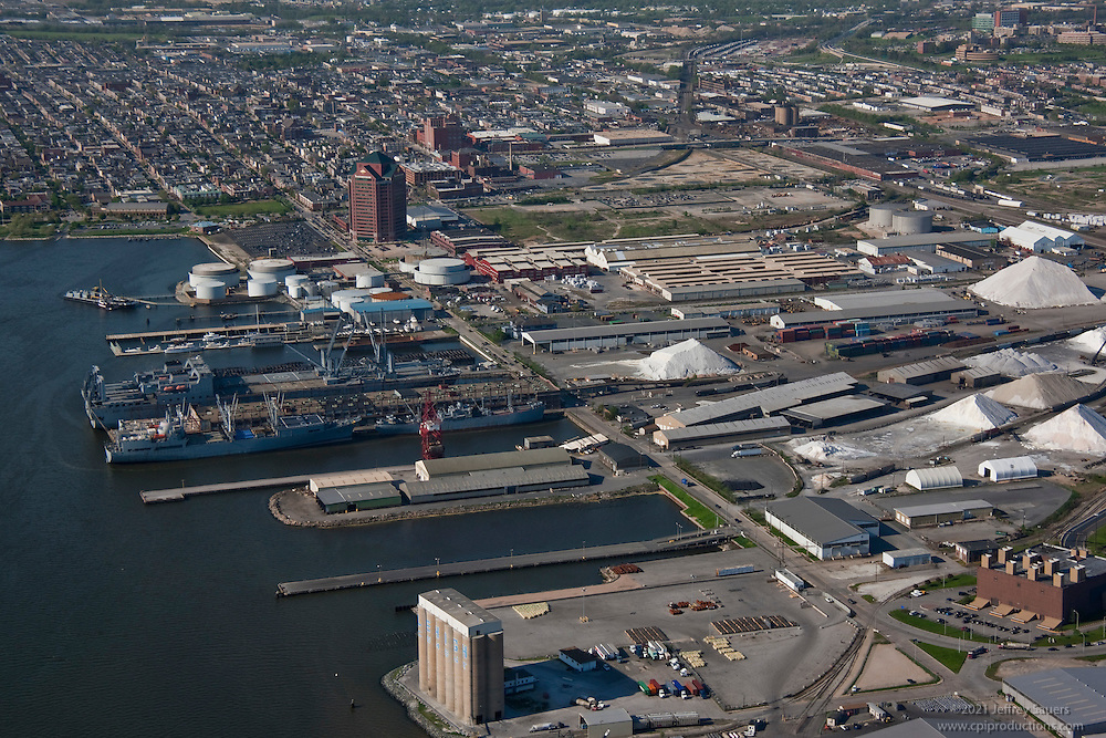 Rukert Shipping Terminal Maryland Port Administration Port of Baltimore Aerial Photograph