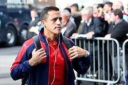Alexis Sanchez of Arsenal arrives at Turf Moor - Mandatory by-line: Matt McNulty/JMP - 02/10/2016 - FOOTBALL - Turf Moor - Burnley, England - Burnley v Arsenal - Premier League